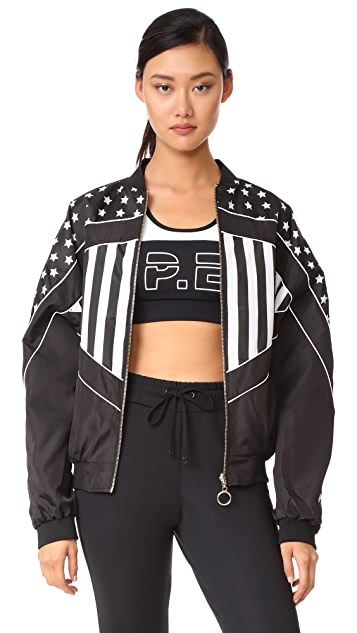 P.E NATION Wild Pitch Reversible Jacket