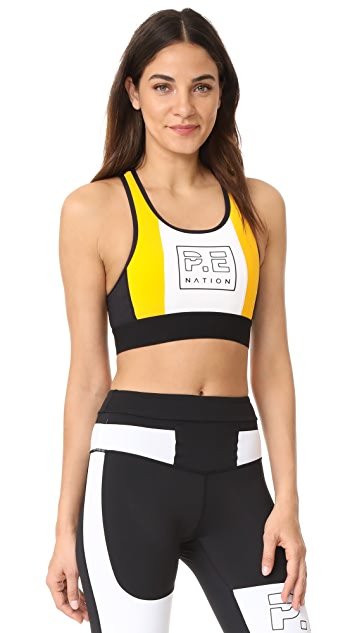 P.E NATION Hybrid Crop Top