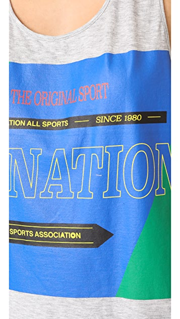 P.E NATION The Countback Tank