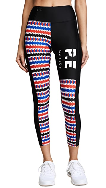 P.E NATION Bell Lap Leggings