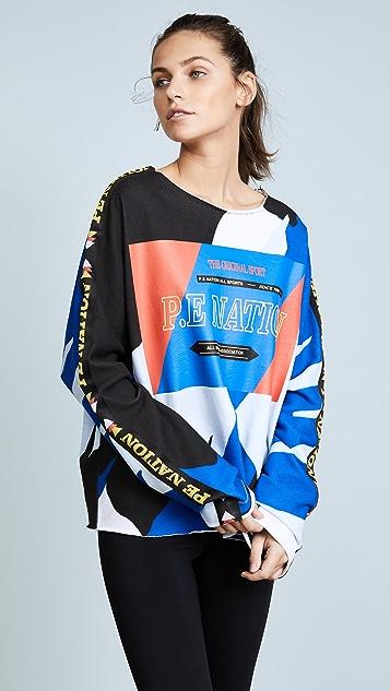 P.E NATION Power Shot Sweatshirt