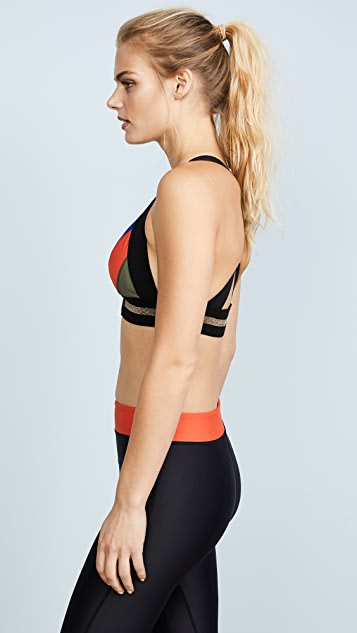 P.E NATION The Centre Crop Sports Bra