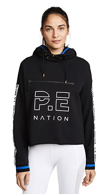 P.E NATION Blind Pass Hoodie Top