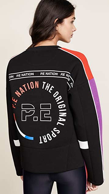 P.E NATION The Cross Bar Sweatshirt