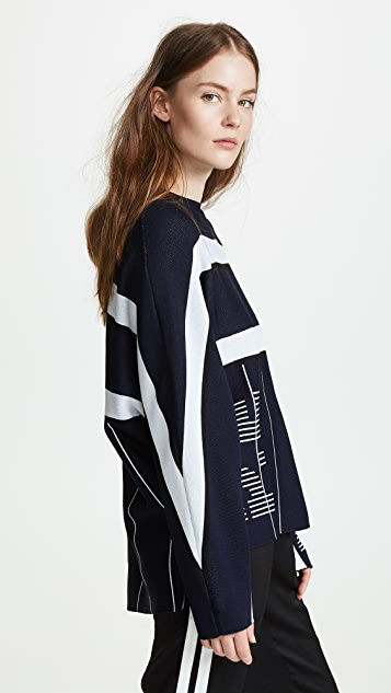 P.E NATION Reverse Knit Top