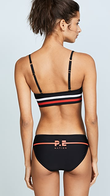 P.E NATION The Marathon Bikini