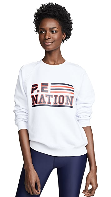P.E NATION Blacktop Sweatshirt
