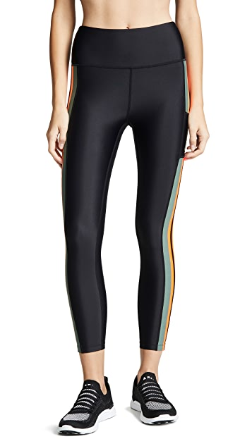 P.E NATION Fly Zip Leggings