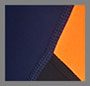 Navy/Fluro Orange