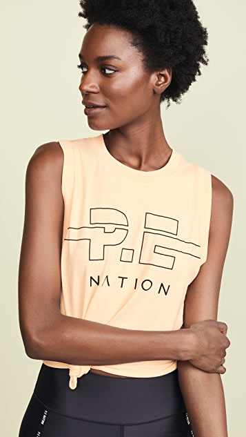 P.E NATION Майка с шипами