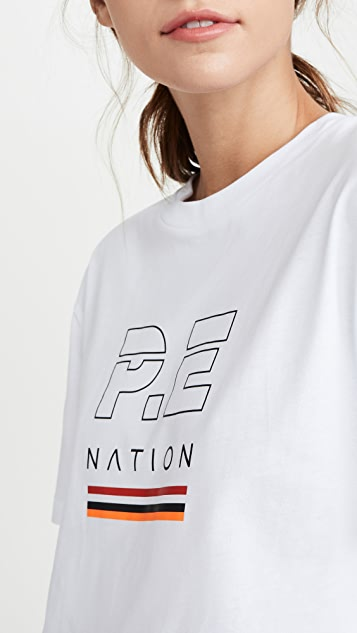 P.E NATION Ignition 短款 T 恤