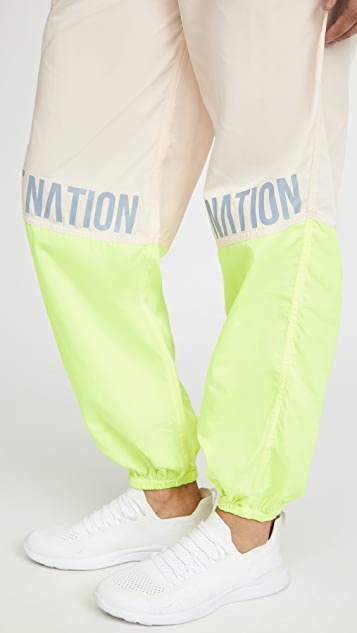 P.E NATION First Position Track Pants