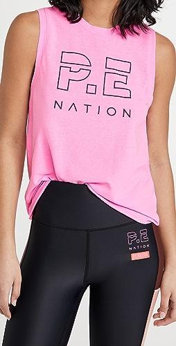 P.E NATION - High Twist Shuffle 背心