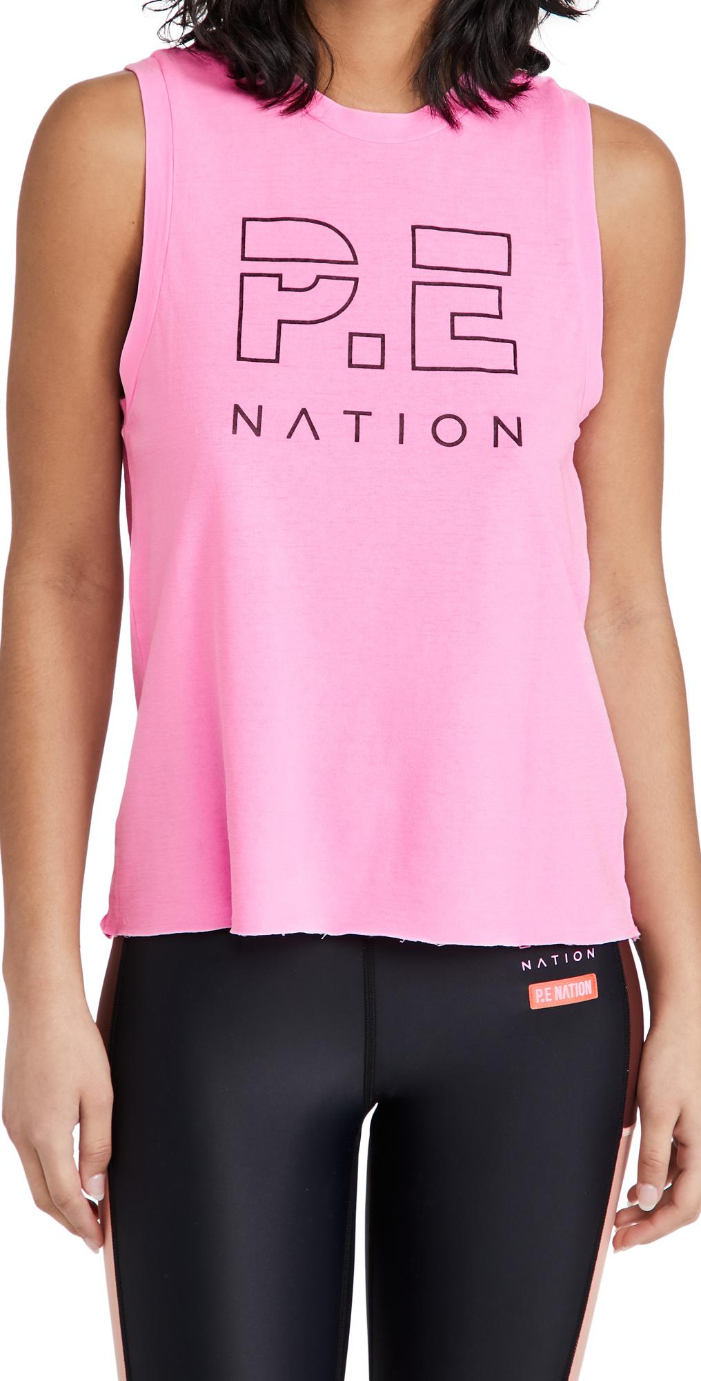 P.E NATION High Twist Shuffle Tank