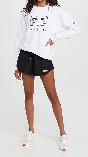 P.E NATION Ramp Run Shorts