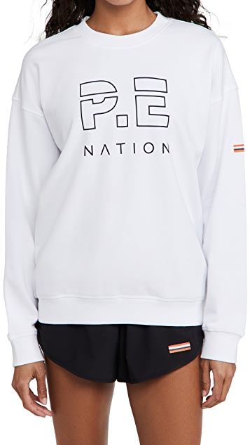 P.E NATION Heads Up 运动衫