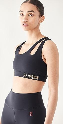 P.E NATION - Basket Cut Sports Bra