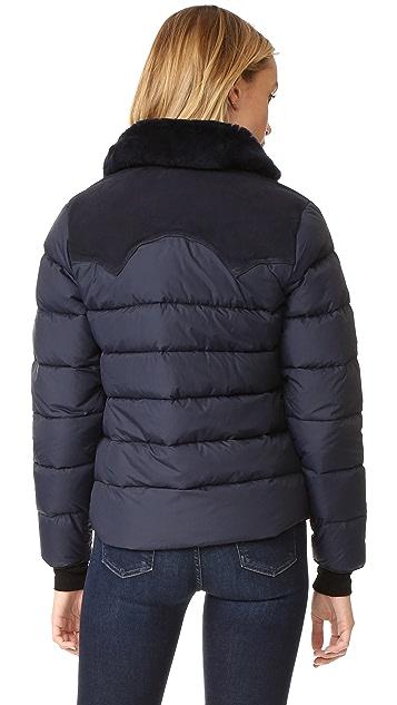 Penfield Rockwool Suede Yoke Down Jacket