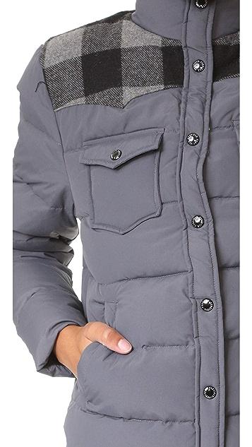 Penfield Rockford Plaid Yoke Down Jacket