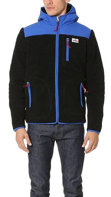 Penfield Carson Hooded Pile Fleece Jacket