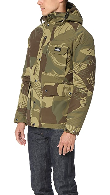Penfield Apex Camo Down Insulated Parka