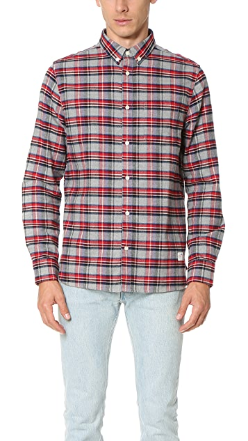 Penfield Ingersoll Brushed Check Shirt