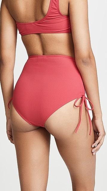 Peony Swimwear 高腰比基尼泳裤