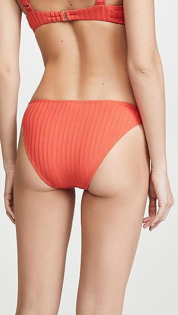 Peony Swimwear Tangerine Bikini Bottoms
