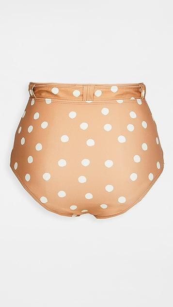 Peony 泳衣 Macadamia High Pant 比基尼泳裤