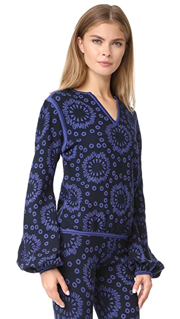 Pepa Pombo Patterned Sweater