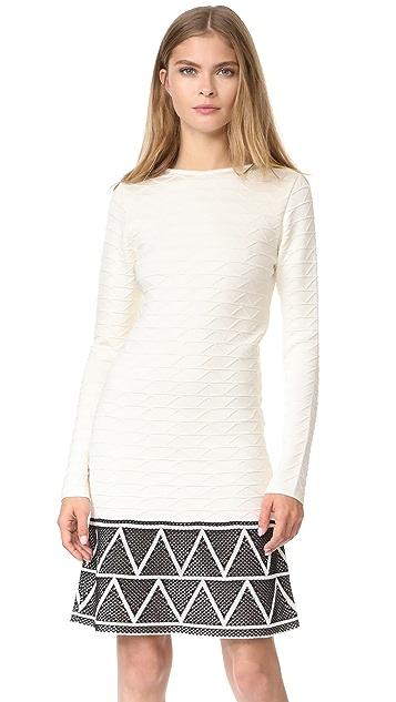 Pepa Pombo Long Sleeve Dress