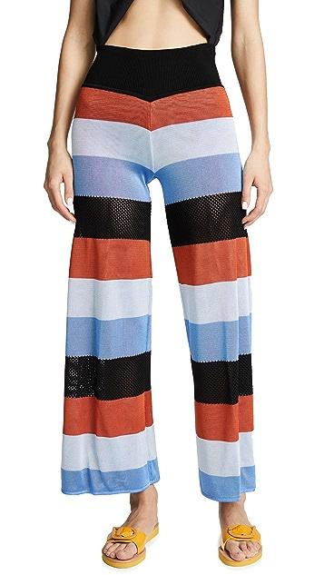 Pepa Pombo Nancy Striped Pants