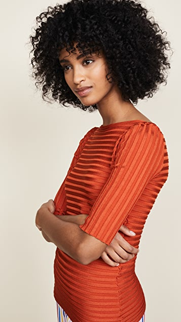 Pepa Pombo Ribbed Shirt