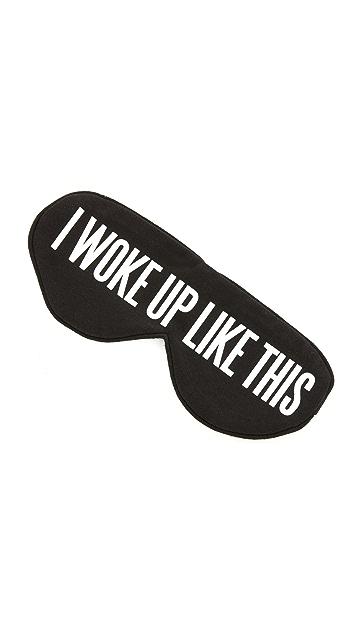 Perpetual Shade I Woke Up Like This Eye Mask
