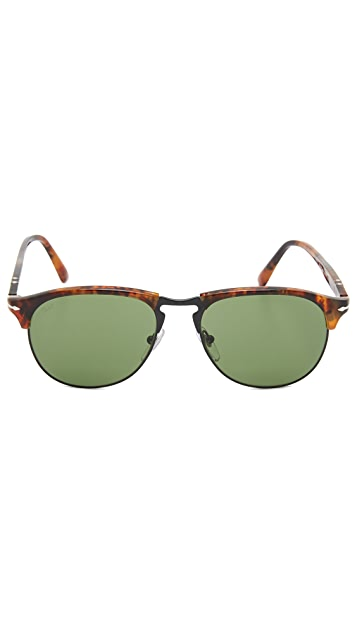 Persol Polarized Aviator Sunglasses