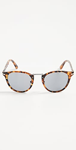 Persol - Round Tortoise Sunglasses
