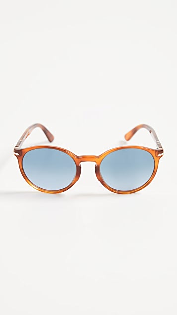 Persol Terra Di Siena Round Sunglasses