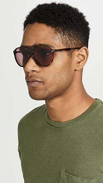 Persol Photochromatic Aviator Sunglasses