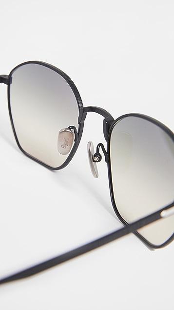 Persol Titanium Aviator Sunglasses