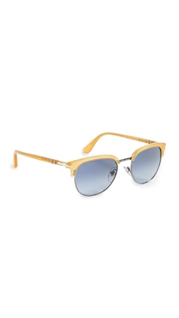 Persol PO0649 Rounded Sunglasses