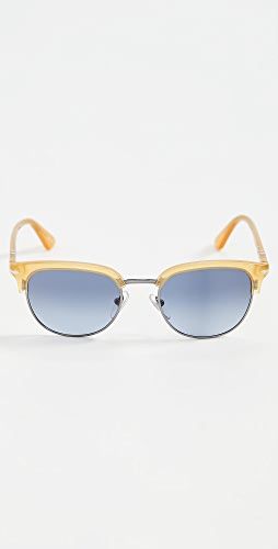 Persol - PO0649 Rounded Sunglasses