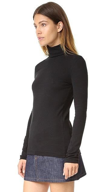 Petit Bateau 1x1 Turtleneck Sweater