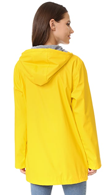Petit Bateau Button Up Raincoat