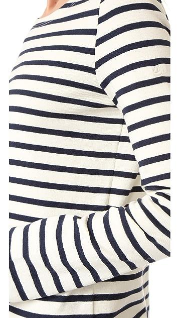 Petit Bateau Hannah Long Sleeve Stripe Tee