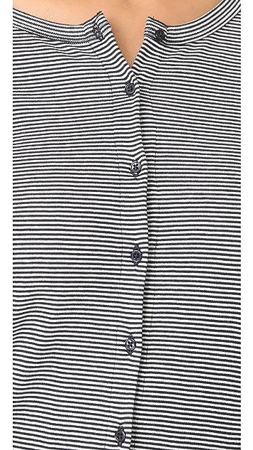 Petit Bateau 1X1 Iconic Striped Cardigan