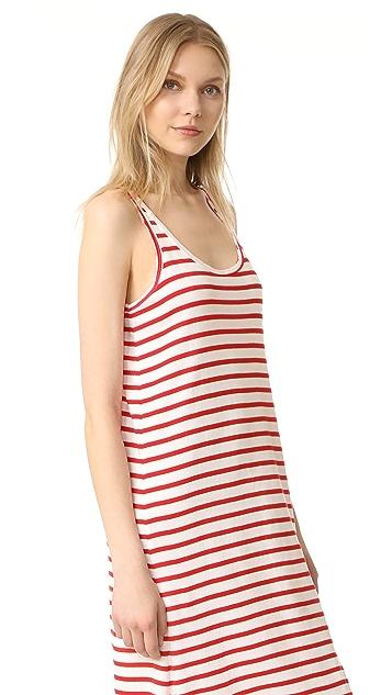 Petit Bateau Iconic Striped Tank Dress