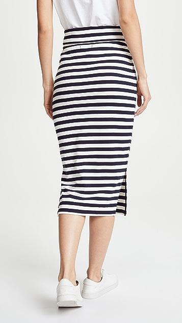 Petit Bateau 1x1 Striped Skirt
