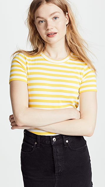 Petit Bateau Iconic 1x1 Striped Tee