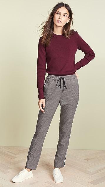 Petit Bateau Классический пуловер с округлым вырезом