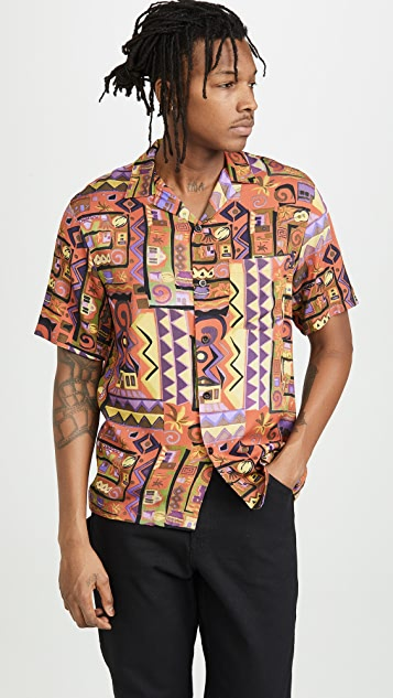 Portuguese Flannel Cabinda '90s Camp Shirt